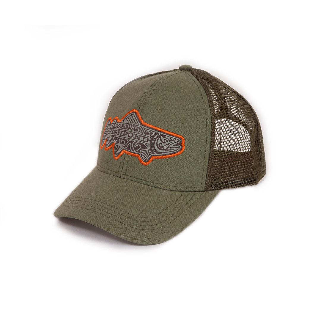 Maori Trout Hat- Olive