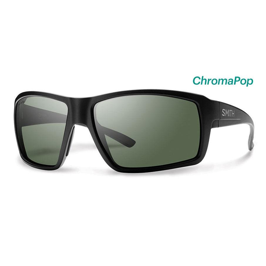 Colson Matte Black ChromaPop Polarized Gray Green