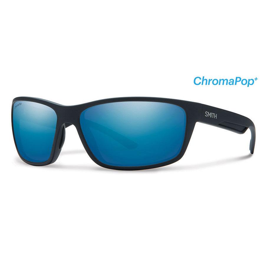Matte Black ChromaPop PLUS Polarized Blue Mirror