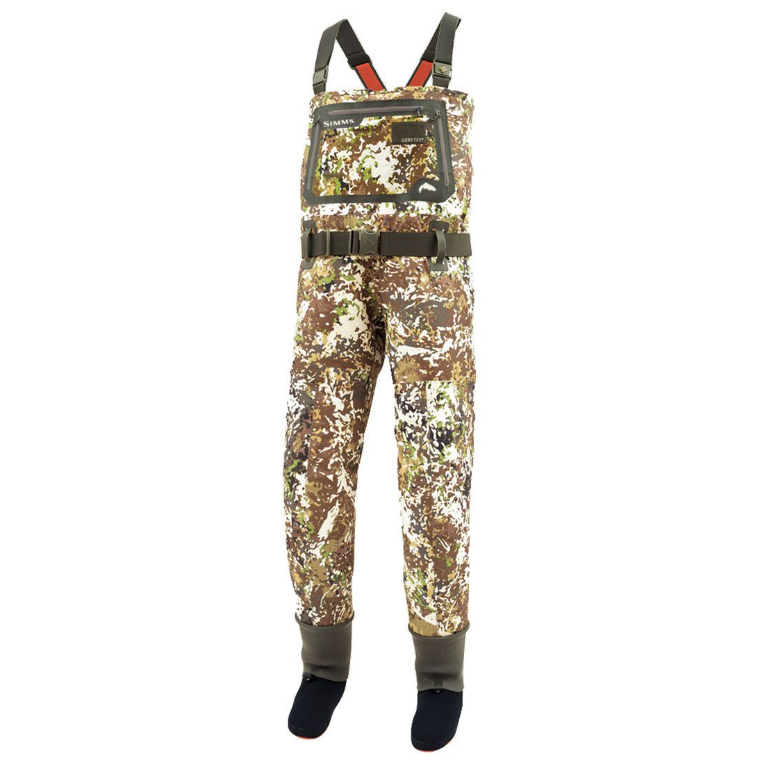 G3 GUIDE RIVER CAMO WADERS – STOCKINGFOOT