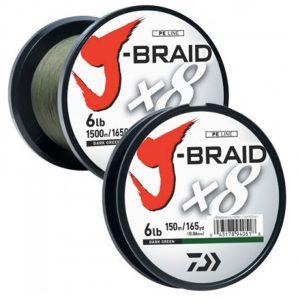 J-BRAID® BRAIDED LINE