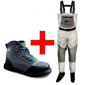 Combo T REX Wader + Boots