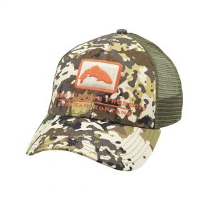 TROUT ICON TRUCKER RIVER CAMO
