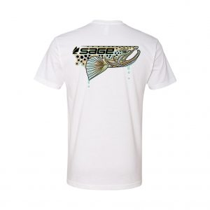 SAGE DRIPPING TROUT SHIRT